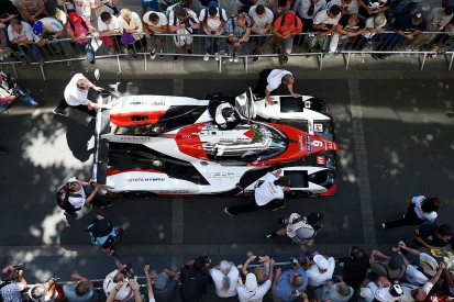 Toyota admits it starts 2017 Le Mans 24 Hours as favourite