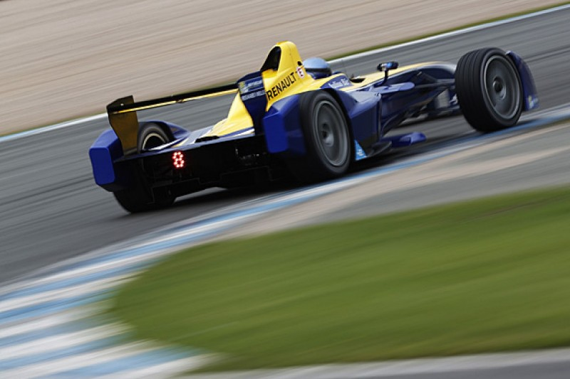 Nicolas Prost fastest on final day of pre-season Formula E testing