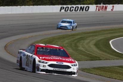 NASCAR Pocono: Ryan Blaney takes maiden Cup victory
