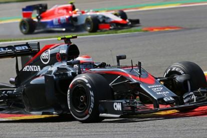McLaren F1 team's Jenson Button calls Belgian GP 'embarrassing'