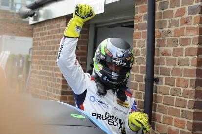 BTCC Croft: Colin Turkington beats Ash Sutton to race two victory
