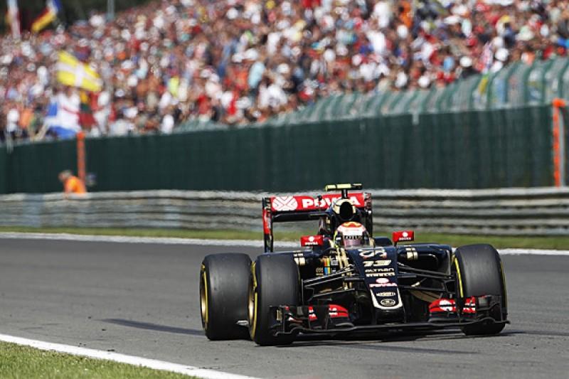 Pastor Maldonado's Belgian GP retirement was self-inflicted - Lotus