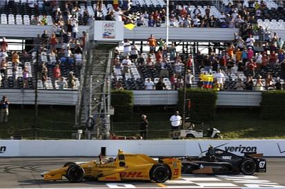 Pocono IndyCar: Andretti's Ryan Hunter-Reay wins crash-marred race