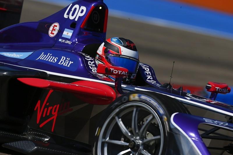 Berlin Formula E: Jose Maria Lopez sets fastest time in practice