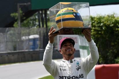 Ayrton Senna's family explains Lewis Hamilton helmet gift confusion