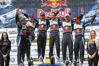 WRC Rally Germany: Sebastien Ogier leads all-Volkswagen podium