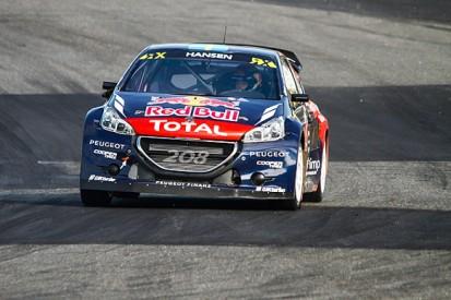 Hell World Rallycross: Timmy Hansen leads for Peugeot after heats