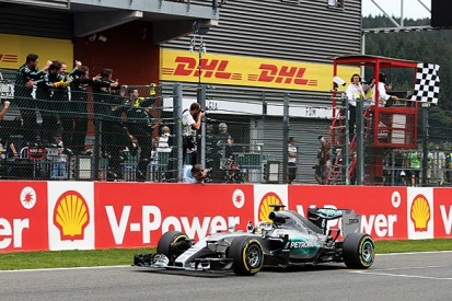 Belgian GP: Lewis Hamilton stretches F1 points lead with Spa win