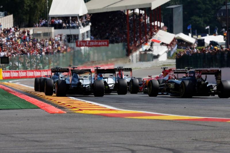 Belgian F1 GP: Nico Rosberg annoyed at himself over poor start