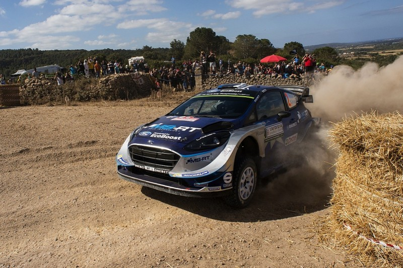 WRC Rally Italy: Ott Tanak takes lead as Hayden Paddon crashes out