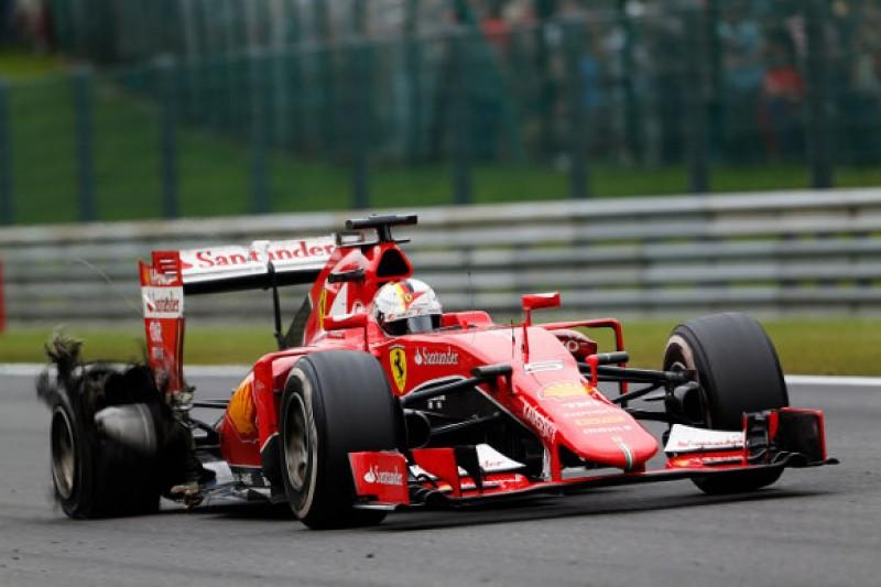 Belgian F1 GP: Furious Sebastian Vettel says Pirelli 'unacceptable'
