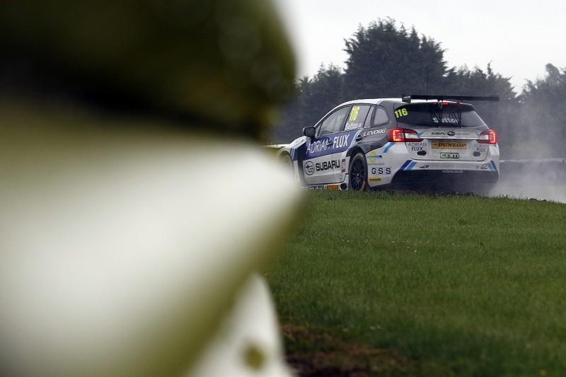 Croft BTCC: Sutton handed pole position after qualifying abandoned