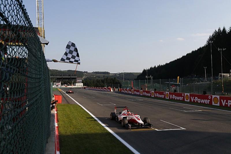 Spa GP3: Esteban Ocon wins for ART after three virtual safety cars
