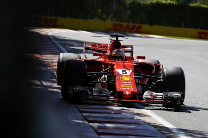Canadian GP: Sebastian Vettel leads Ferrari one-two in FP3