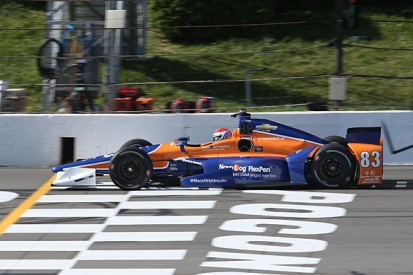 Pocono IndyCar: Charlie Kimball leads Ganassi one-two in practice