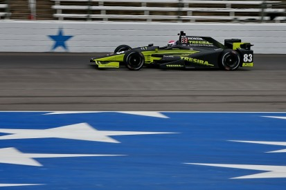 Texas IndyCar: Chip Ganassi's Charlie Kimball takes lap record pole