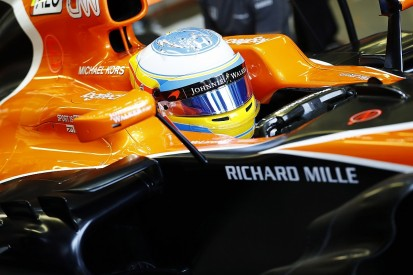 McLaren Honda's Fernando Alonso - Friday running 'totally wasted'