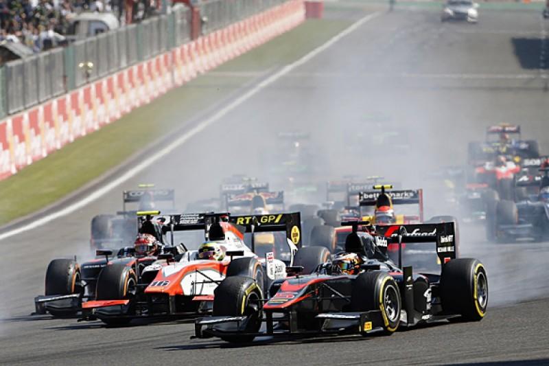 Spa GP2: McLaren's Stoffel Vandoorne wins crash-interrupted race