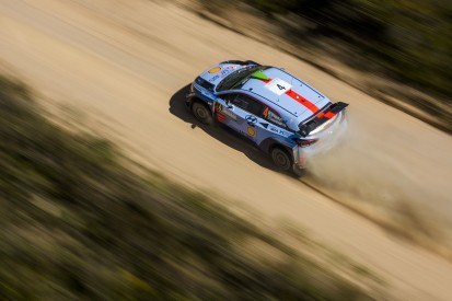 WRC Rally Italy: Hayden Paddon widens lead as rivals hit trouble