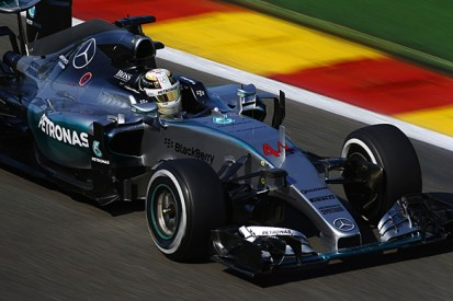 Belgian F1 GP: Lewis Hamilton heads practice three for Mercedes