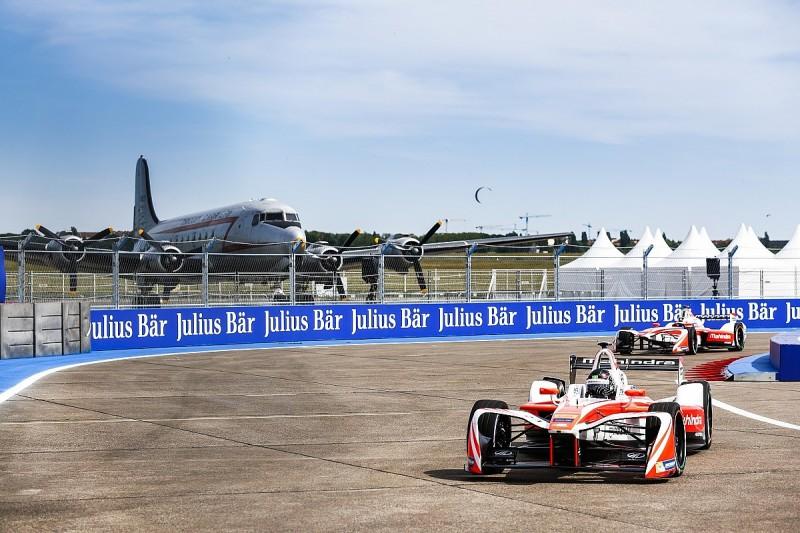 Formula E Berlin: Nick Heidfeld leads Mahindra one-two in practice