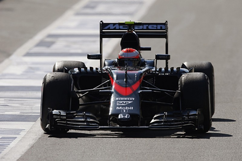 Belgian F1 GP: McLaren's Button and Alonso have second Honda change