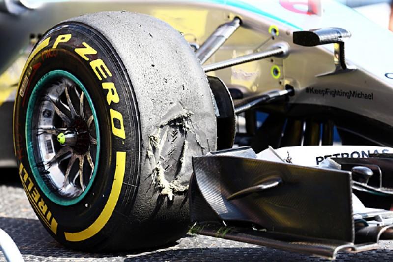 Pirelli thinks video feeds would help avert Formula 1 tyre blowouts