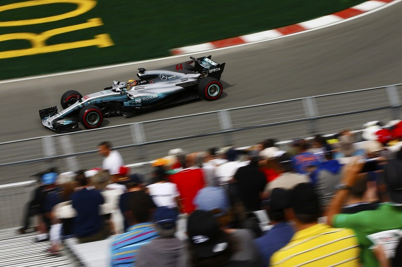 Lewis Hamilton quickest for Mercedes in first Canadian GP practice