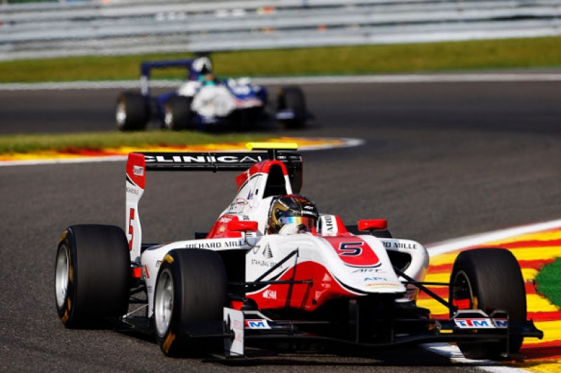 Spa GP3: Marvin Kirchhofer given grid penalty for blocking
