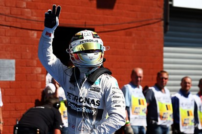 Belgian F1 GP: Mercedes' Lewis Hamilton extends pole streak at Spa