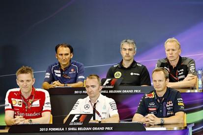 Belgian GP: Friday F1 press conference transcript