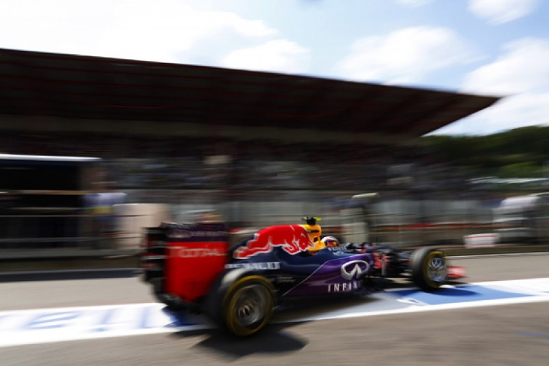 Red Bull and Kvyat penalised for unsafe Belgian GP pitlane release