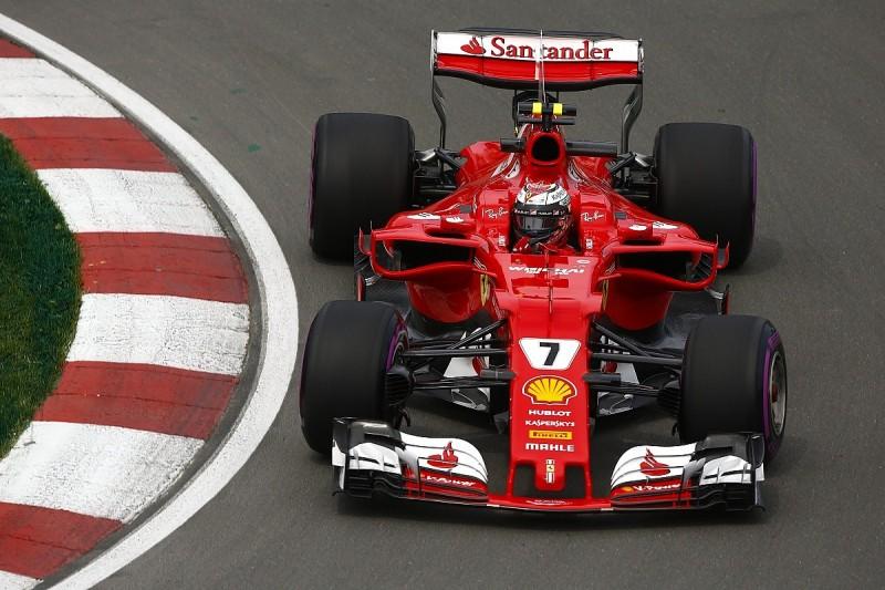 Canadian GP FP2: Kimi Raikkonen fastest ahead of Lewis Hamilton