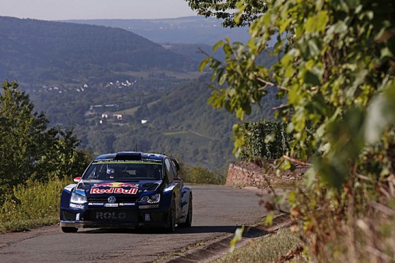 WRC Rally Germany: Jari-Matti Latvala leads Sebastien Ogier by 0.1s
