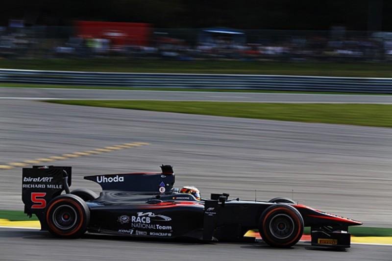 Spa GP2: McLaren F1 protege Stoffel Vandoorne tops practice for ART