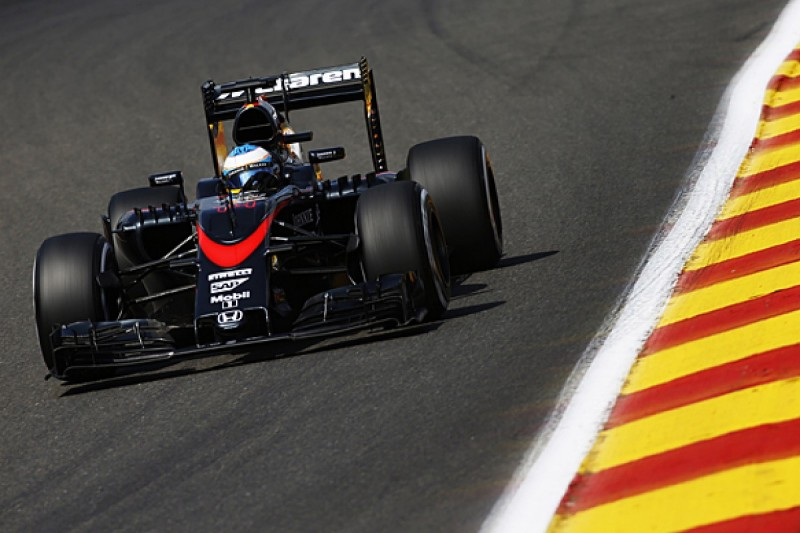 Belgian GP: McLaren F1's Alonso and Button get first penalties