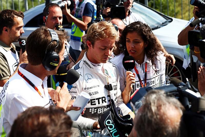 Belgian GP: No warning of F1 practice tyre blowout - Nico Rosberg