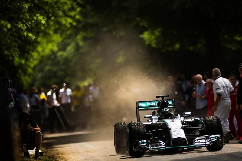 F1 world champion Nico Rosberg to drive 2014 Mercedes at Goodwood