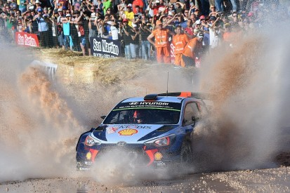 WRC Rally Italy: Thierry Neuville puts Hyundai in early lead