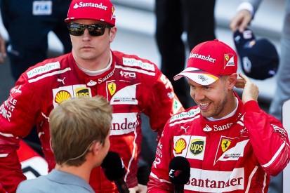 Kimi Raikkonen: Sebastian Vettel is not number one at Ferrari