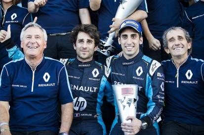 Sebastien Buemi, Nico Prost extend Renault e.dams Formula E deals