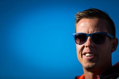 V8 Supercars' James Courtney hurt in freak pitlane incident