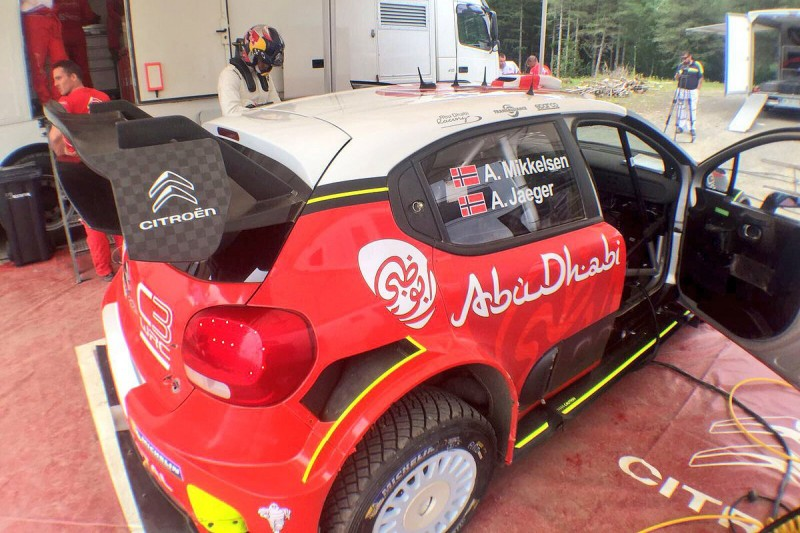 Andreas Mikkelsen was anxious before first Citroen WRC test