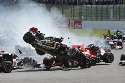 Lotus F1 driver Romain Grosjean 'needed help' after 2012 crashes