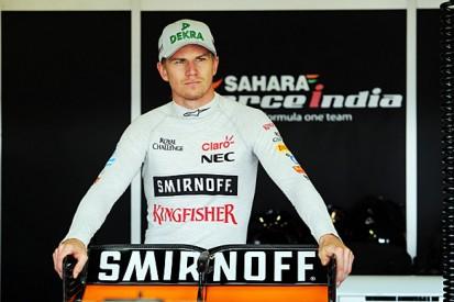 F1's Nico Hulkenberg joins Sebastian Vettel for Race of Champions