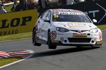 MG BTCC racer Daniel Lloyd quits team after four rounds