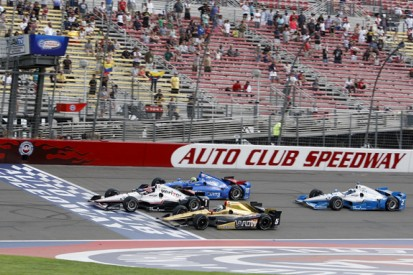 Fontana superspeedway off IndyCar schedule in 2016