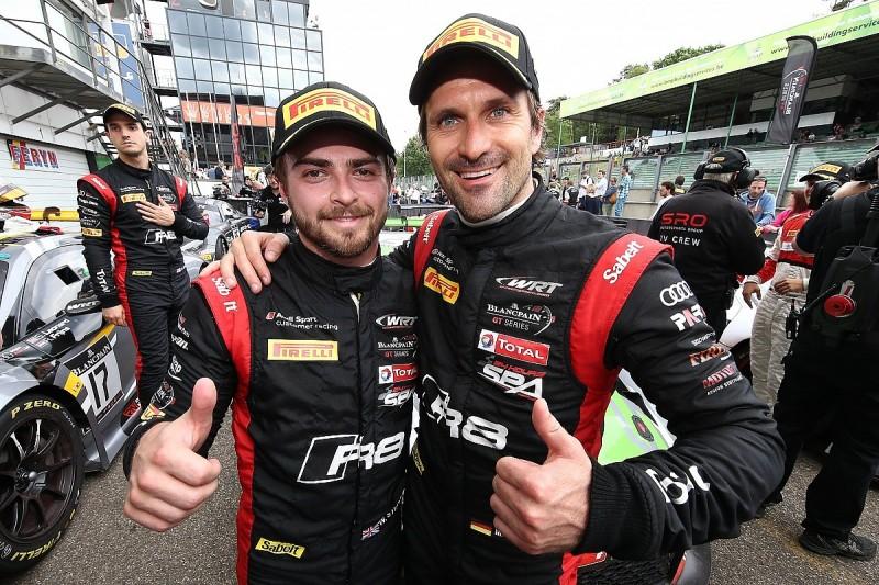 Zolder Blancpain GT: Stevens and Winkelhock win for WRT Audi