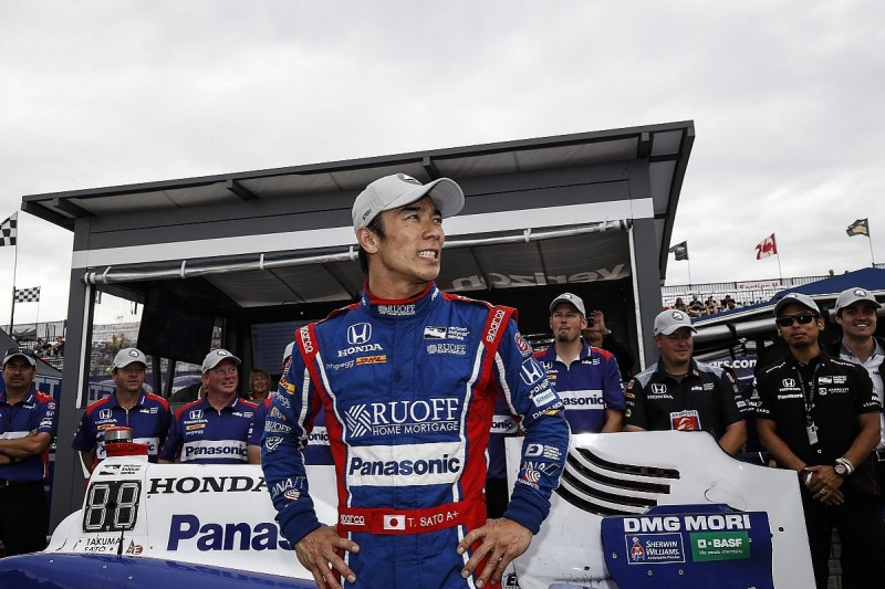 Detroit IndyCar: Indianapolis 500 winner Takuma Sato on pole