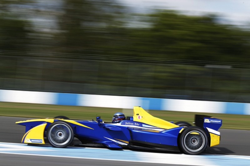 Buemi in front again in Formula E test with unofficial lap record